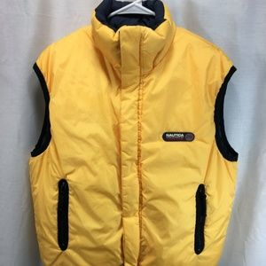 Nautica Competition Reversible Puffer Vest Jacket